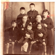 Unknown Anglo-Chinese family, Liverpool, c.1930s.