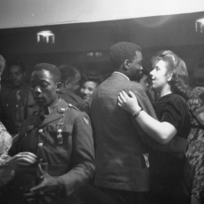 Photo accompanying the article 'Inside London's Coloured Clubs', Picture Post magazine, 1943.