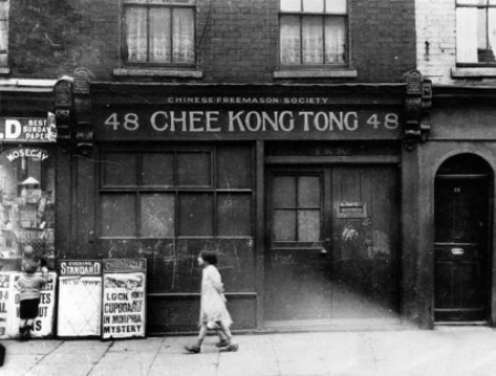 Chinatown in Limehouse, 1927